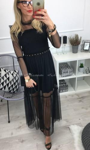 Sukienka Maxi z jetami Candy