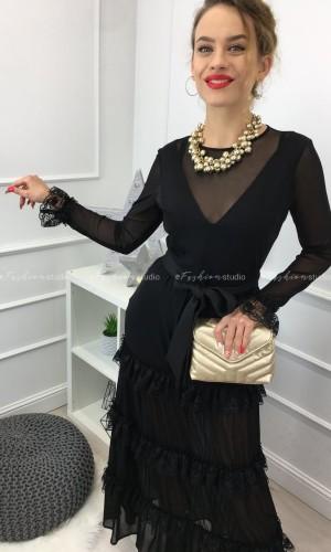 Sukienka maxi z siateczki / Mandy