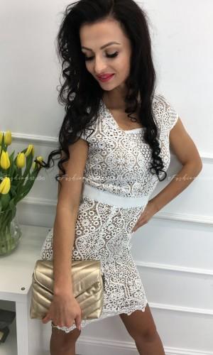Sukienka koronkowa Megan