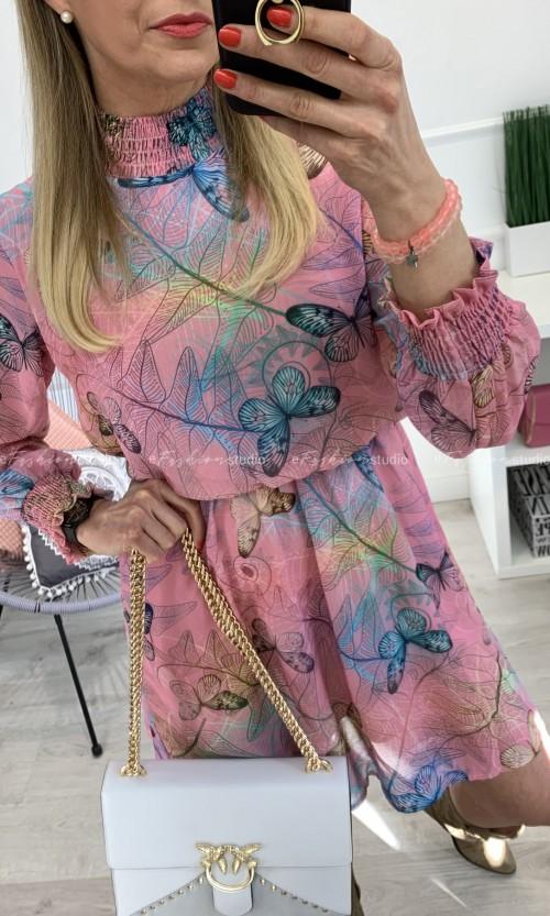 Sukienka SOPHIA Butterfly Pink