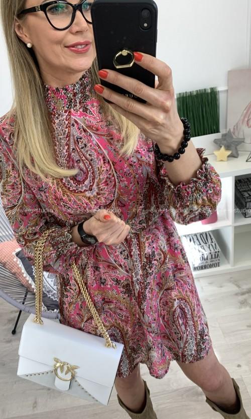Sukienka SOPHIA Boho Pink