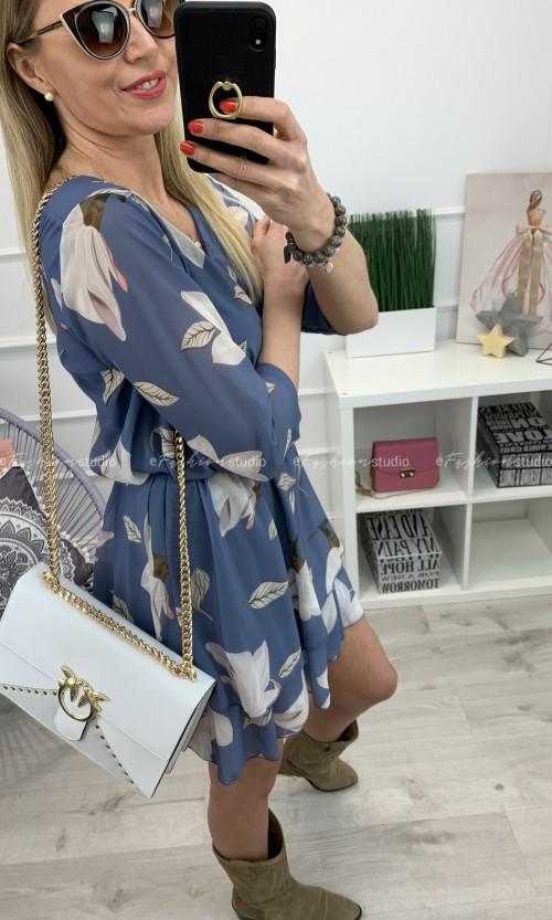 Sukienka ROZA Lila Blue