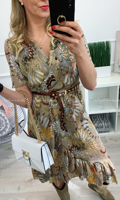 Sukienka FLAMANT ROSE Beige