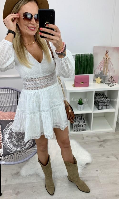 Sukienka SEPHORA Boho White