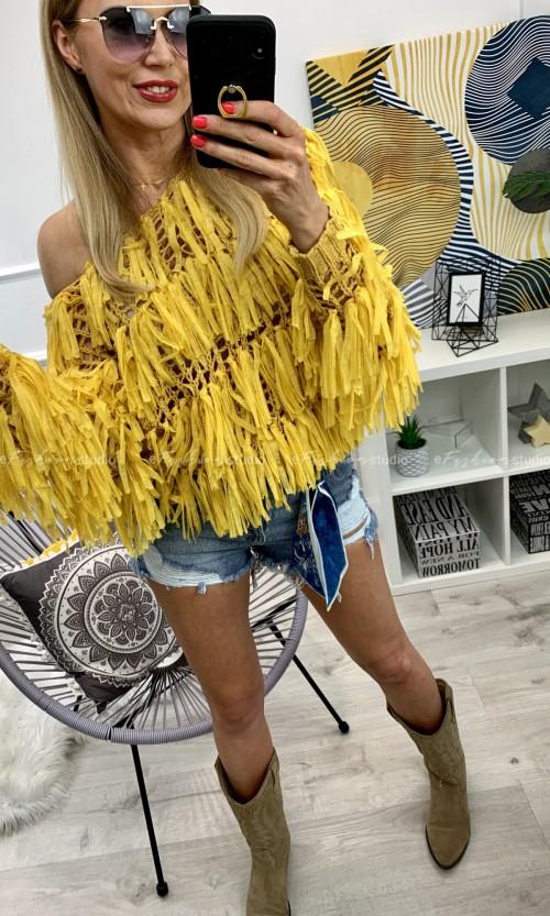 Sweterek FANTASY Yellow