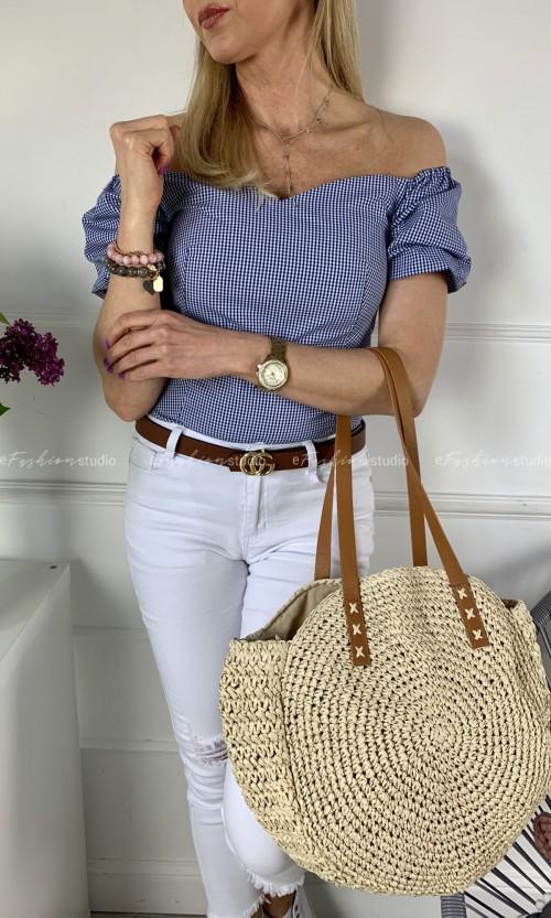 Bluzka SIMPLY Hiszpanka Blue