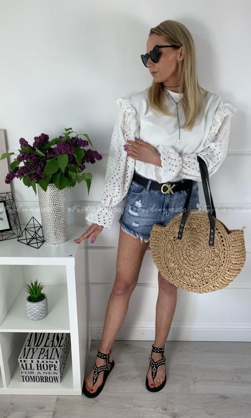 Bluza LOLA Ażur White