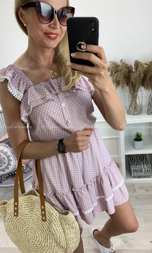 Sukienka MIA Dots Pink