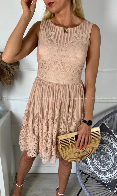 Sukienka SOFIA Nude