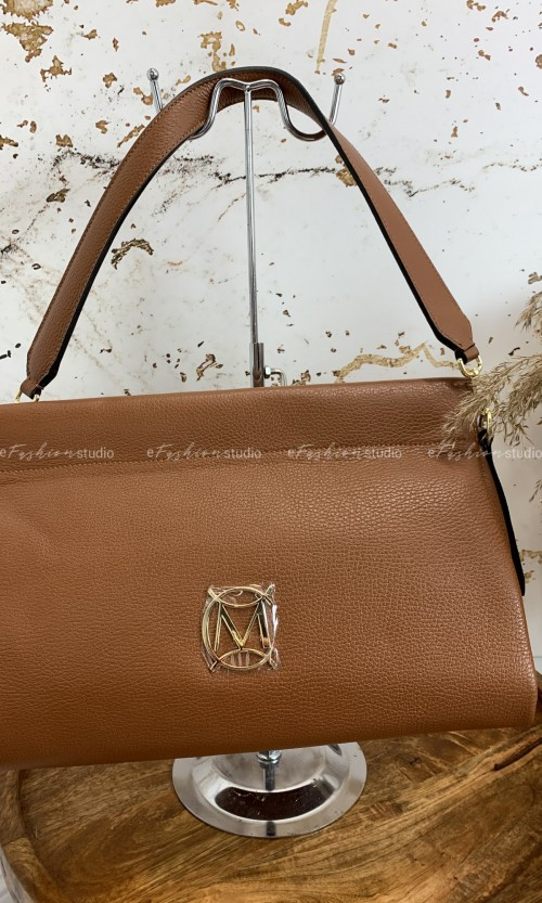 Torebka MASSIMO Leather Carmel