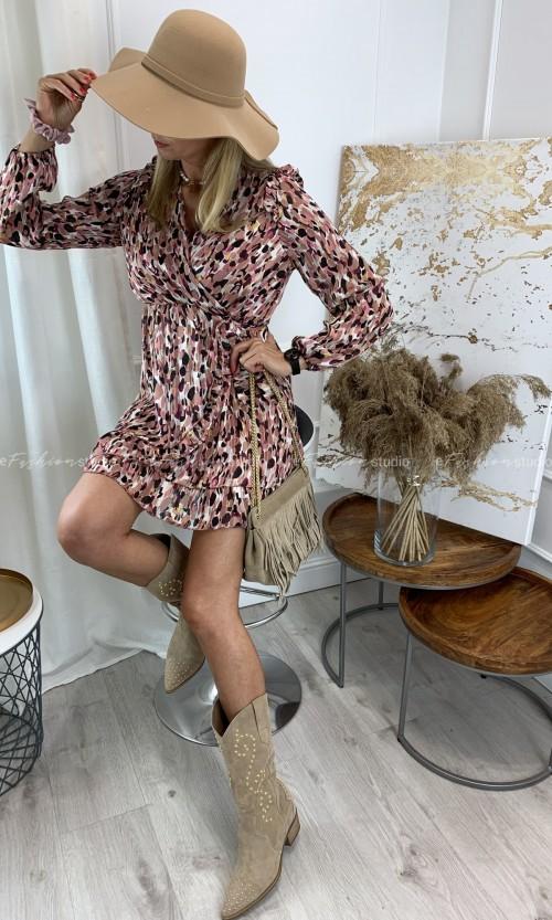 Sukienka szyfonowa DORIS Print