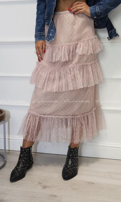 Spódnica Tiulowa KYOKO Pink