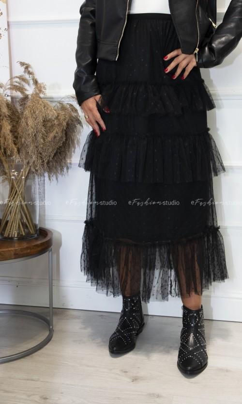 Spódnica Tiulowa KYOKO Black