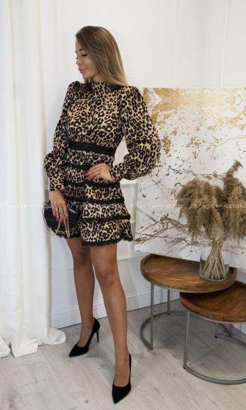 Sukienka Odkryte Plecy TOMOKO Carmel