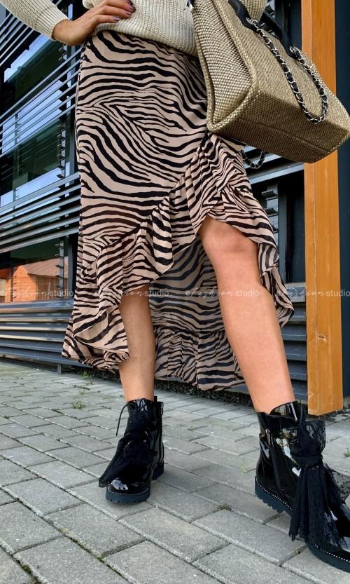 Spódnica SANVI Zebra Brown