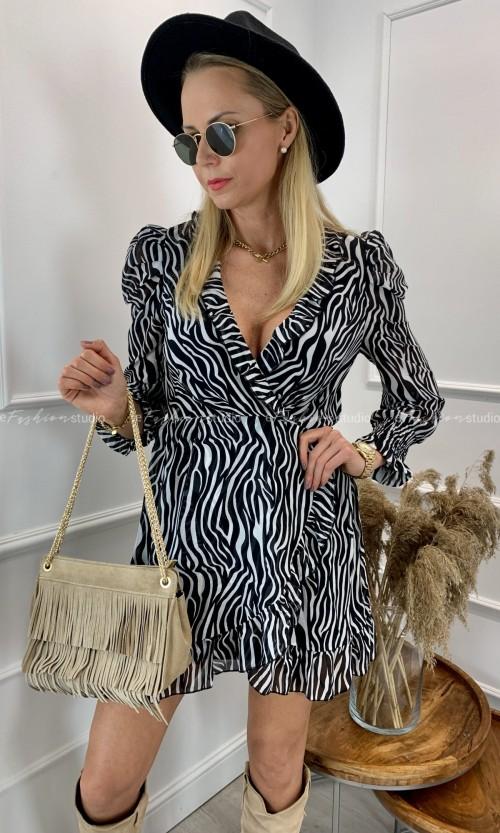 Sukienka ANIMALS ZEBRA