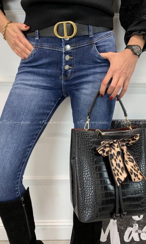 Spodnie Jeans BALMAIN Buttons Denim