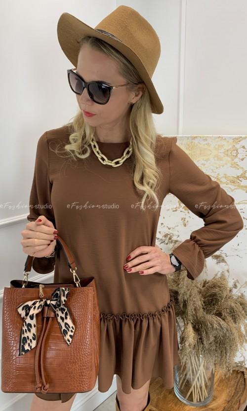 Sukienka Baby Doll BASIC Brown