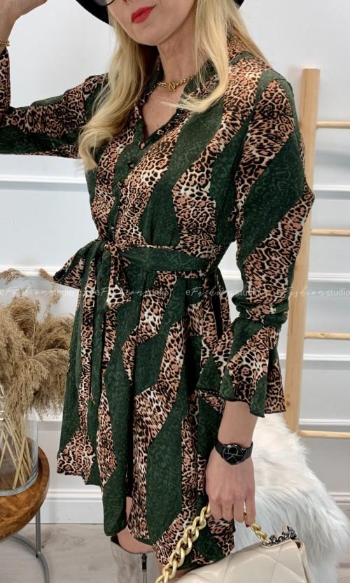 Sukienka AFRICA Green