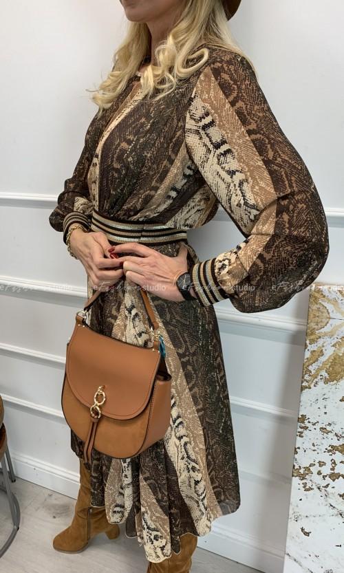 Sukienka Midi MOOD Snake