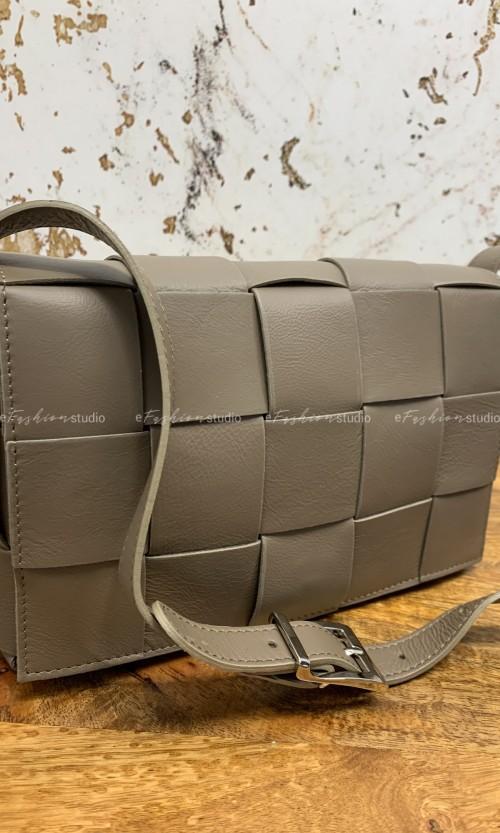Torebka BOTTEGA Taupe Leather