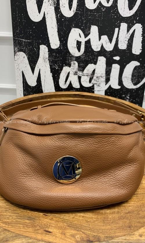 Nerka MASSIMO Leather Medium Karmel
