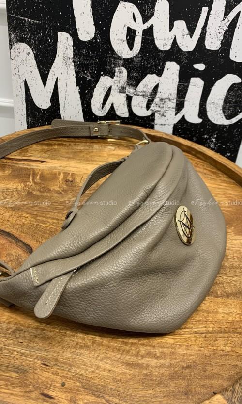 Nerka MASSIMO Leather Medium Taupe