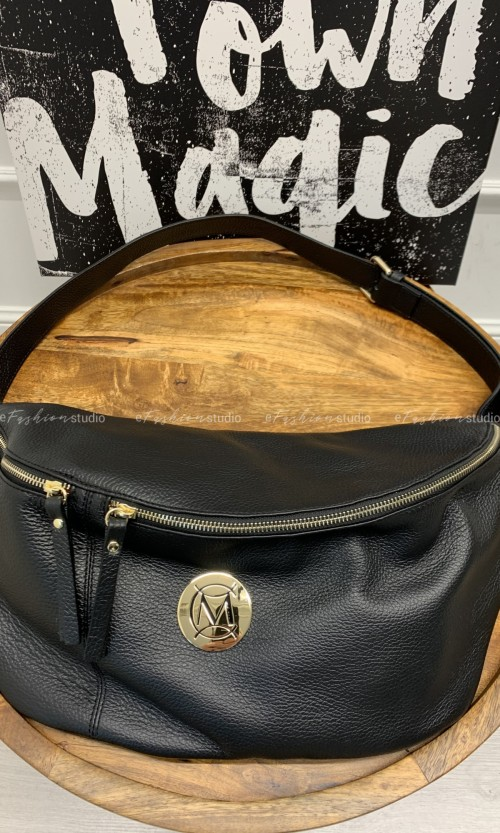 Nerka MASSIMO Leather Large Black