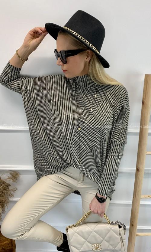 Bluzka Tunika KLARA Pepita